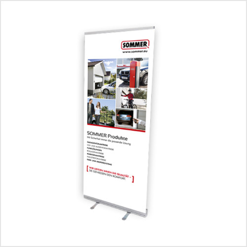 SOMMER Roll-up Displays